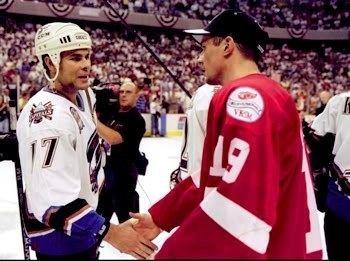 1998 Stanley Cup Finals Third String Goalie 199798 Washington Capitals Adam Oates Jersey