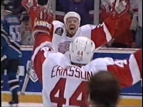 1998 Stanley Cup Finals Kris Draper GameWinning Goal 1998 Stanley Cup Finals YouTube