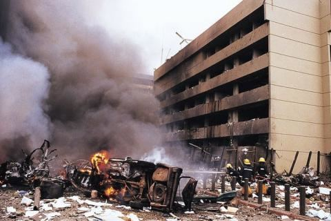 1998 United States embassy bombings The US embassy attacks in Kenya and Tanzania 1998 Fox from Zim