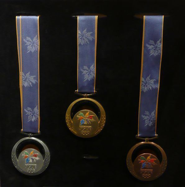1998 Winter Olympics medal table