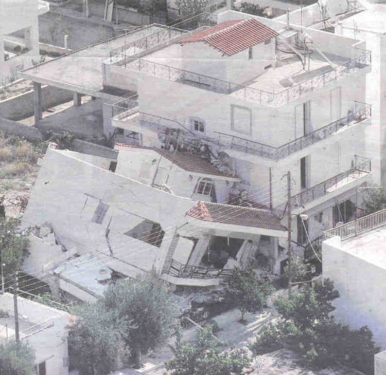 1999 Athens earthquake Athens gemecd