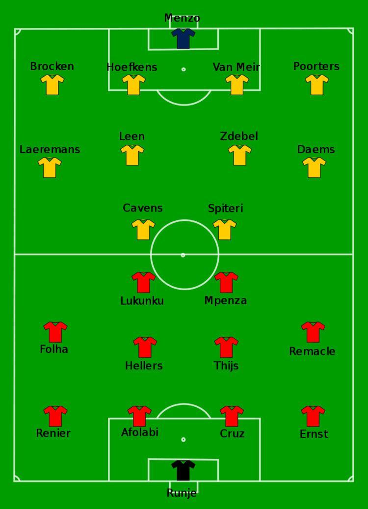 1999 Belgian Cup Final