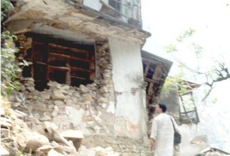 1999 Chamoli earthquake Kinderhilfswerk India Chamoli Earthquake
