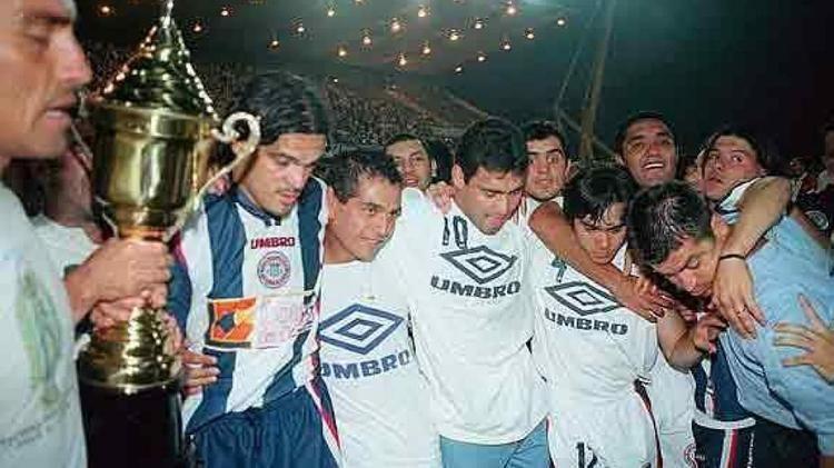 1999 Copa CONMEBOL A 16 aos de Talleres campen de la Copa Conmebol Da a Da