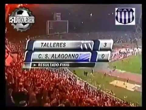 1999 Copa CONMEBOL FINAL DA COPA CONMEBOL 1999 CSA X TALLERES YouTube