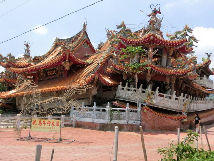 1999 Jiji earthquake Rum n39 Kisses Taiwan Trip May 2015 Wu Chang Temple JiJi