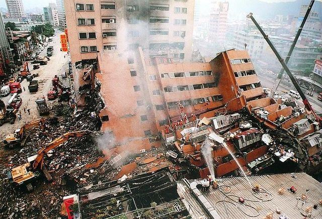 1999 Jiji earthquake Enviromental Geography Taiwan