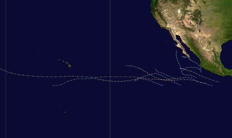 1999 Pacific hurricane season