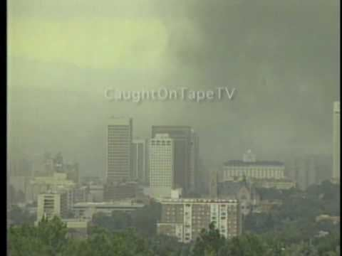 1999 Salt Lake City tornado Tornado Strikes Salt Lake City YouTube