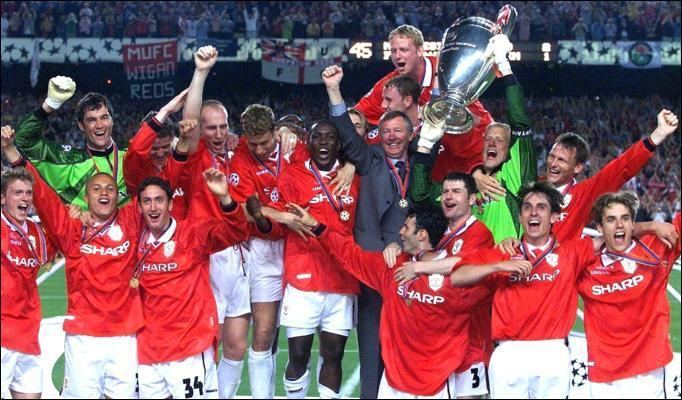 1999 UEFA Champions League Final 1999 Champions League Final Manchester United 21 Bayern Munich