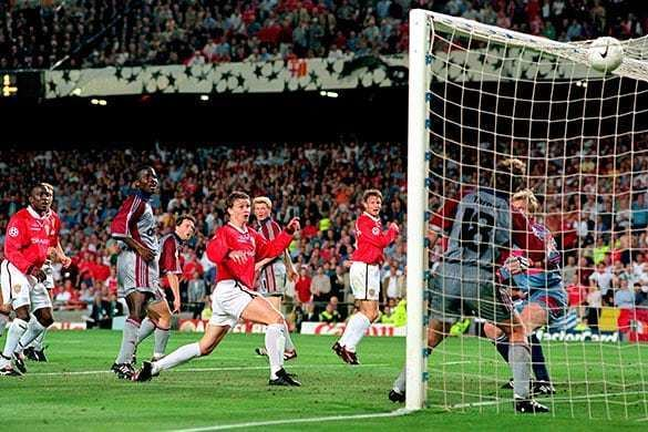 1999 UEFA Champions League Final Football How Manchester United won the Champions League in 1999