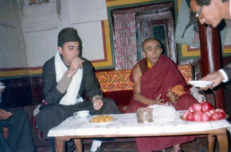 19th Kushok Bakula Rinpoche 19th BAKULA RINPOCHE Spituk Monastery