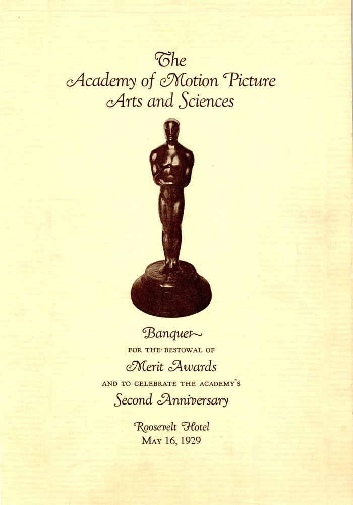 1st Academy Awards Picture of the Week 67 The 1st Academy Awards Spectacular