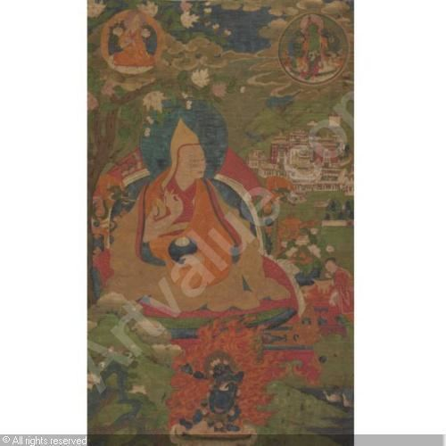 1st Dalai Lama GEDUN TRUPPA 1ST DALAI LAMA sold by Sotheby39s New York