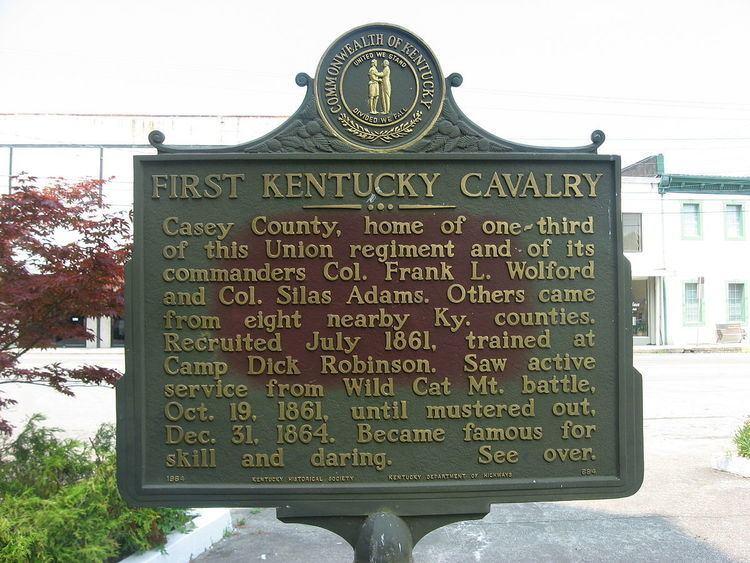 1st Regiment Kentucky Volunteer Cavalry