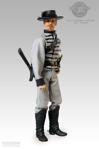 1st Virginia Cavalry CS Cav 1st Virginia Cavalry Sixth Scale Figure Sideshow