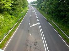 2+1 road 21 road Wikipedia