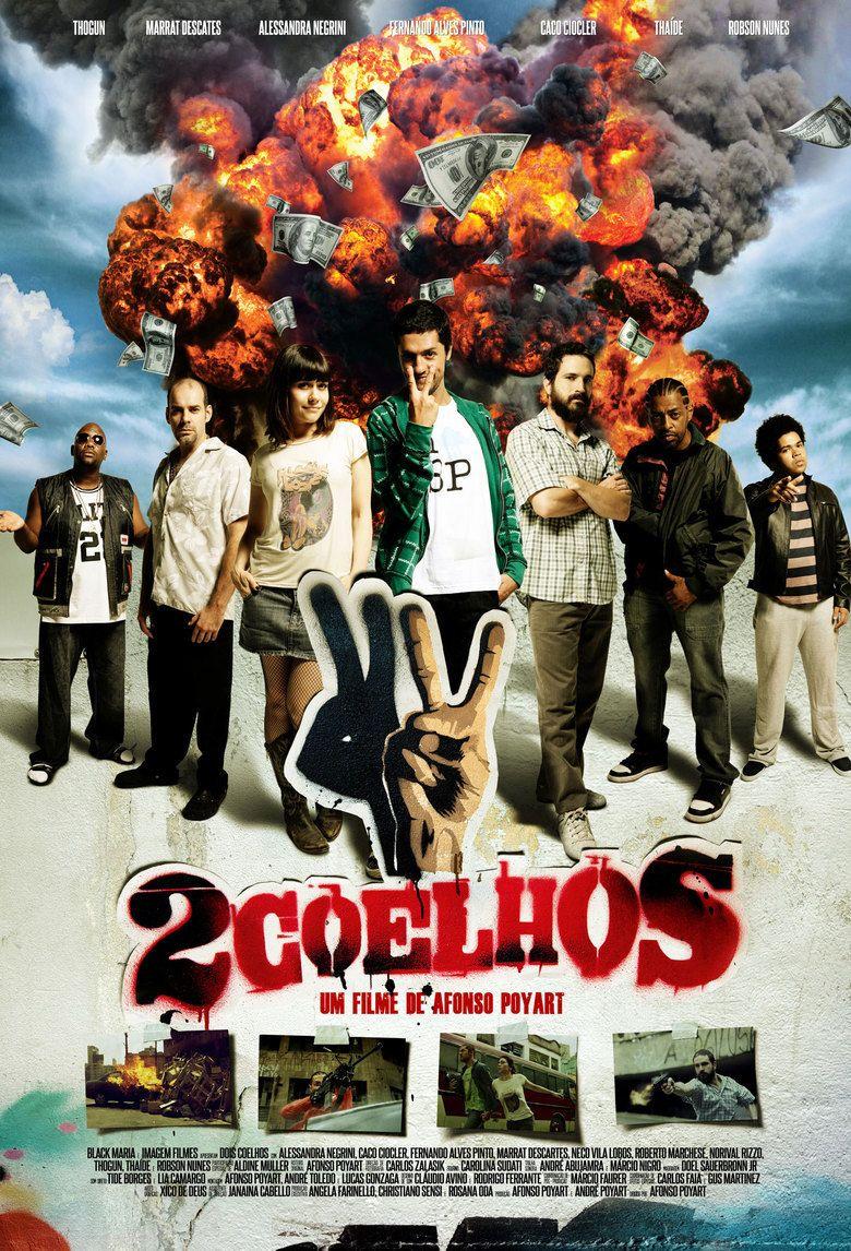 2 Coelhos movie poster
