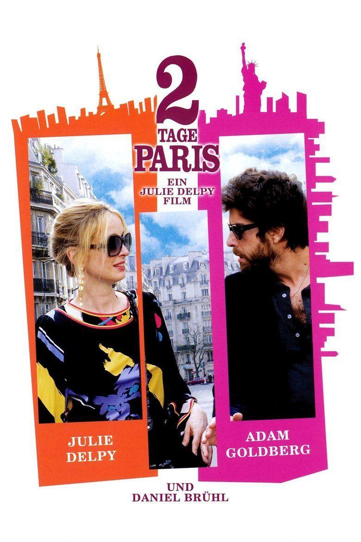 2 Days in Paris movie poster