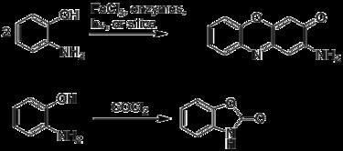 2-Aminophenol 2Aminophenol Wikipedia
