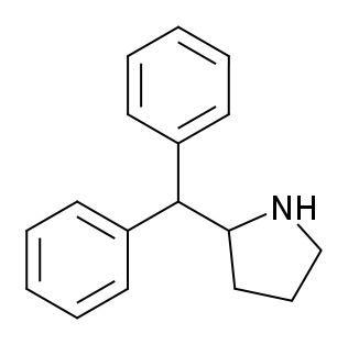 2-Diphenylmethylpyrrolidine