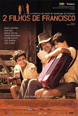 2 Filhos de Francisco movie poster