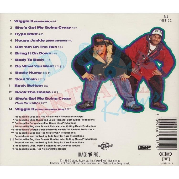 2 in a Room Wiggle it by 2 In A Room CD with alfredkraus Ref115480640