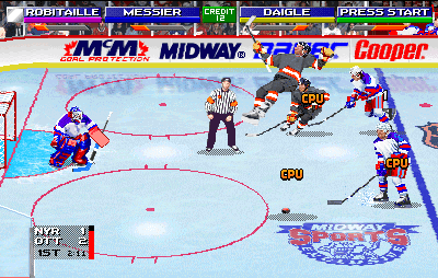 2 on 2 Open Ice Challenge Play 2 On 2 Open Ice Challenge rev 121 Online MAME Game Rom