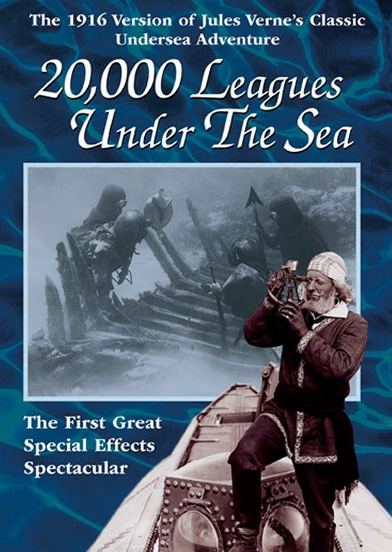 20,000 Leagues Under the Sea (1916 film) movie poster