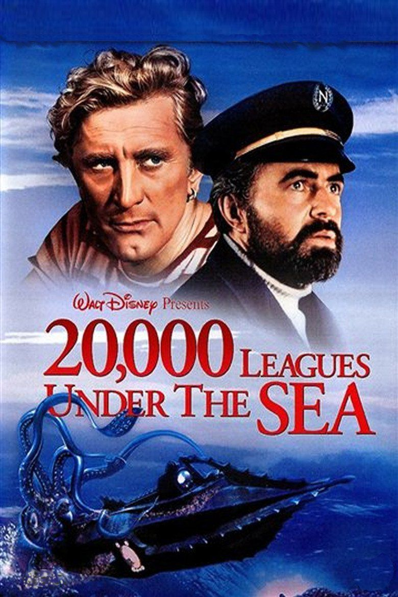 20,000 Leagues Under the Sea (1954 film) movie poster