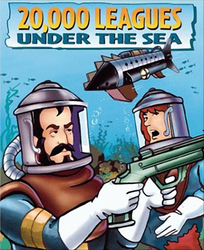 20,000 Leagues Under the Sea (1985 film) movie poster