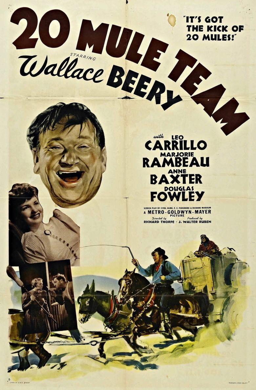 20 Mule Team movie poster