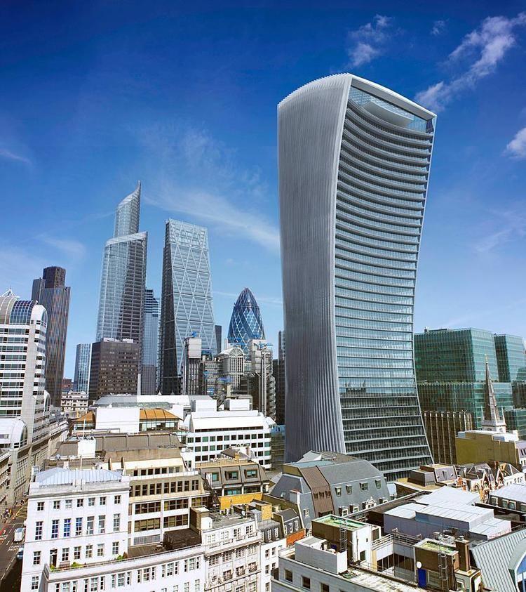 20 Fenchurch Street LONDON 20 Fenchurch Street 525 feet 16011 meters 36 floors