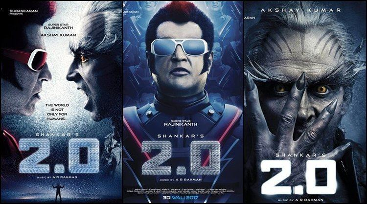2.0 (film) 20 Not Baahubali Rajinikanth and Akshay Kumar film may be India39s