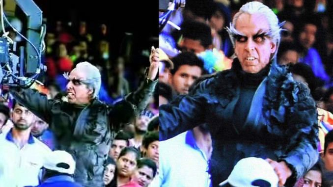 2.0 (film) Akshay Kumar39s outrageous makeover for Rajinikanth39s film