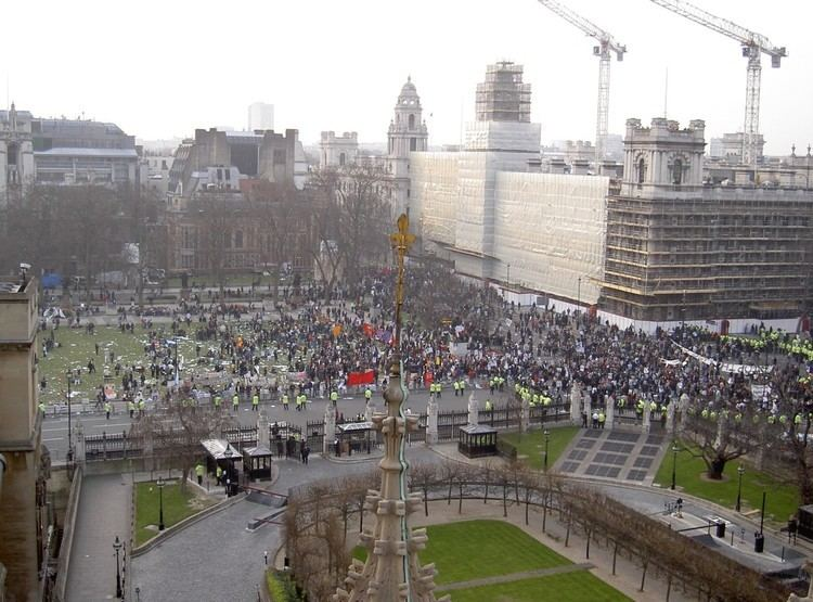 20 March 2003 anti-war protest