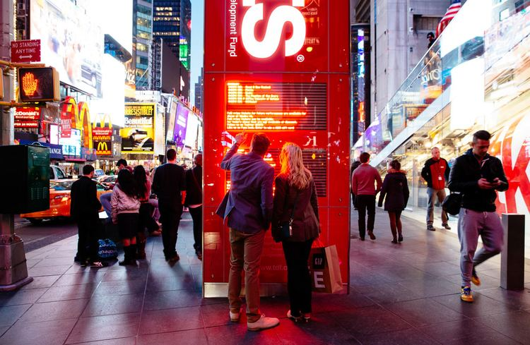 20 Times Square 20 Times Square is the new face of Times Square retail