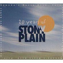 20 Years of Stony Plain httpsuploadwikimediaorgwikipediaenthumb3