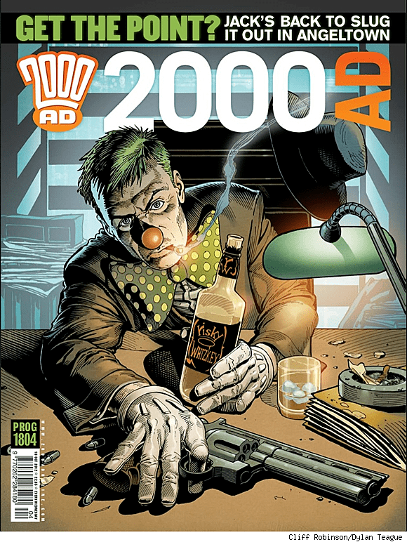 2000 AD (comics) 2000 AD39s 39Trifecta39 Crossover Is Hereby Declared The Best Event