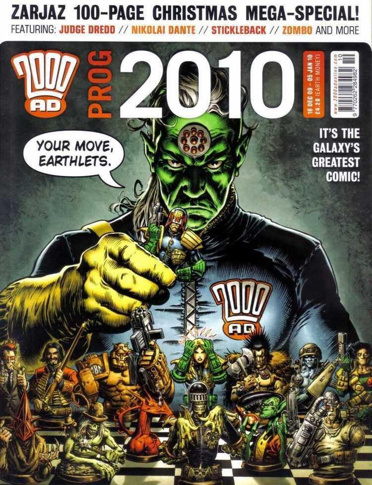 2000 AD (comics) 2000 AD Annual 2010 Prog 2010 Issue