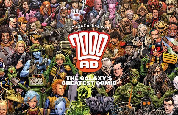 2000 AD (comics) 2000 AD comics Thomas Clayton