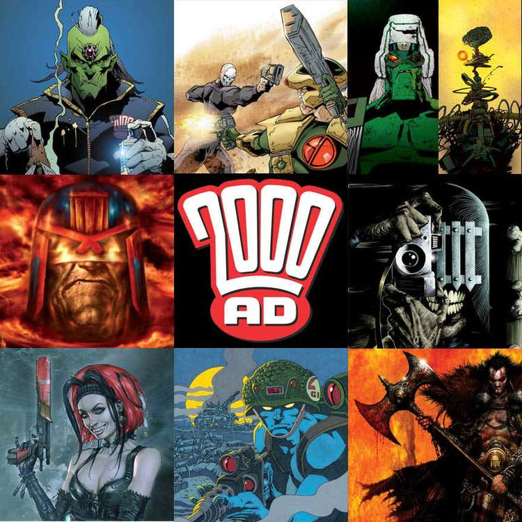 2000 AD (comics) 1000 images about 2000AD Comic Book Art on Pinterest
