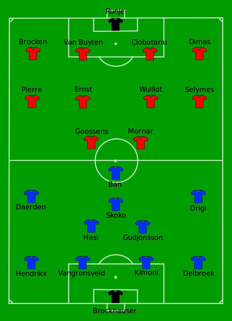 2000 Belgian Cup Final