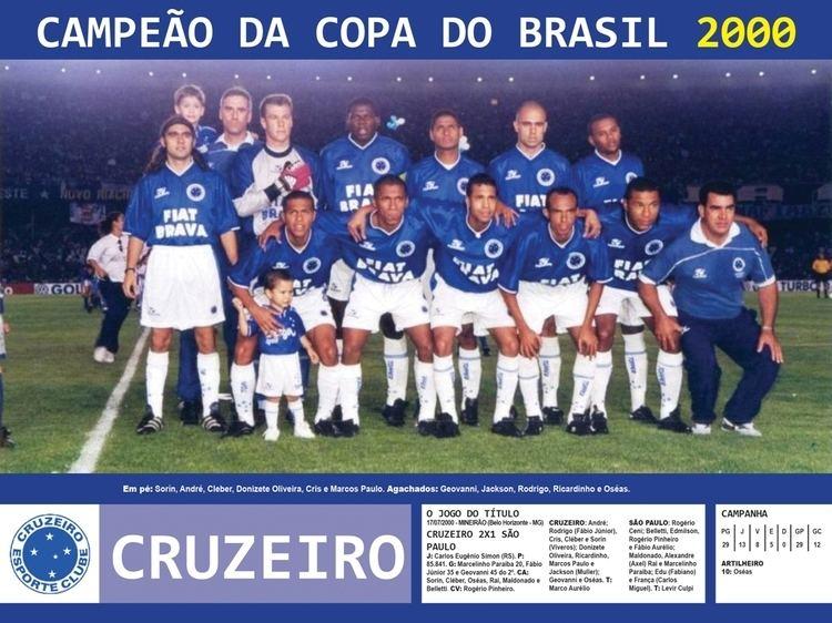 2000 Copa do Brasil Edio dos Campees Cruzeiro Campeo da Copa do Brasil 2000