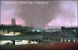 2000 Fort Worth tornado Fort Worth Tornado March 28 2000 1820 hours