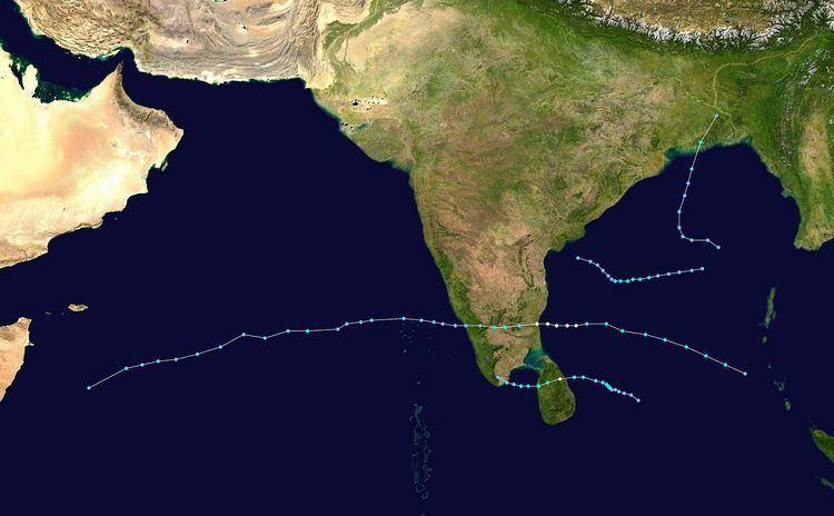 2000 North Indian Ocean cyclone season
