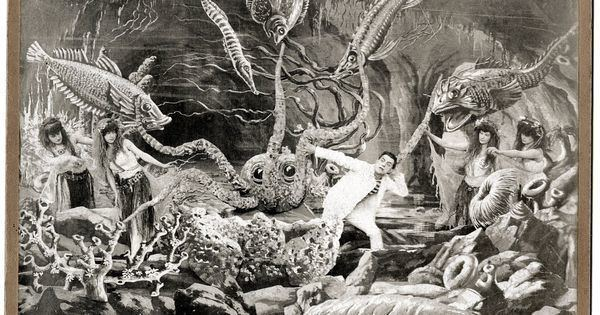 20,000 Leagues Under the Sea (1916 film) 20000 Leagues Under the Sea 1916 1st Movie Filmed Underwater