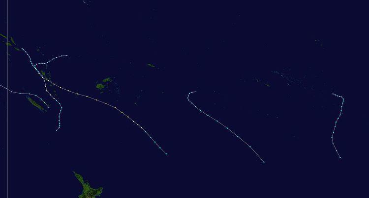 2000–01 South Pacific cyclone season