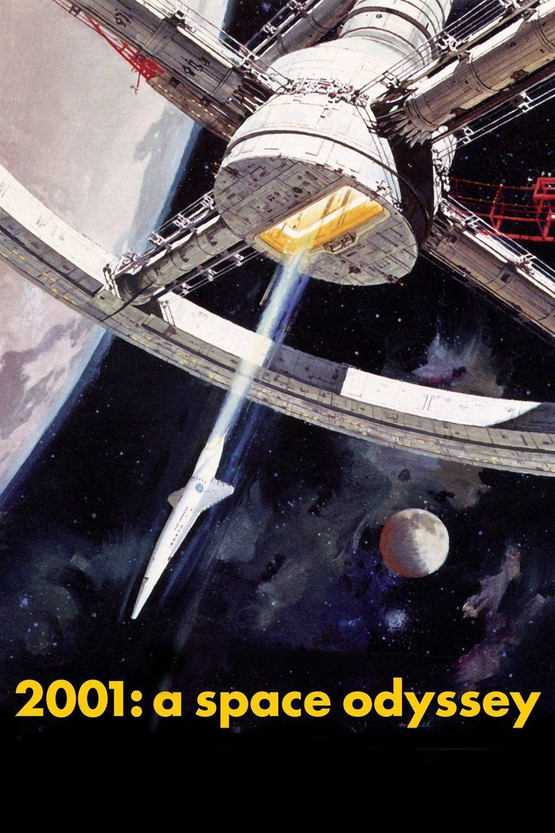 2001: A Space Odyssey (film) movie poster