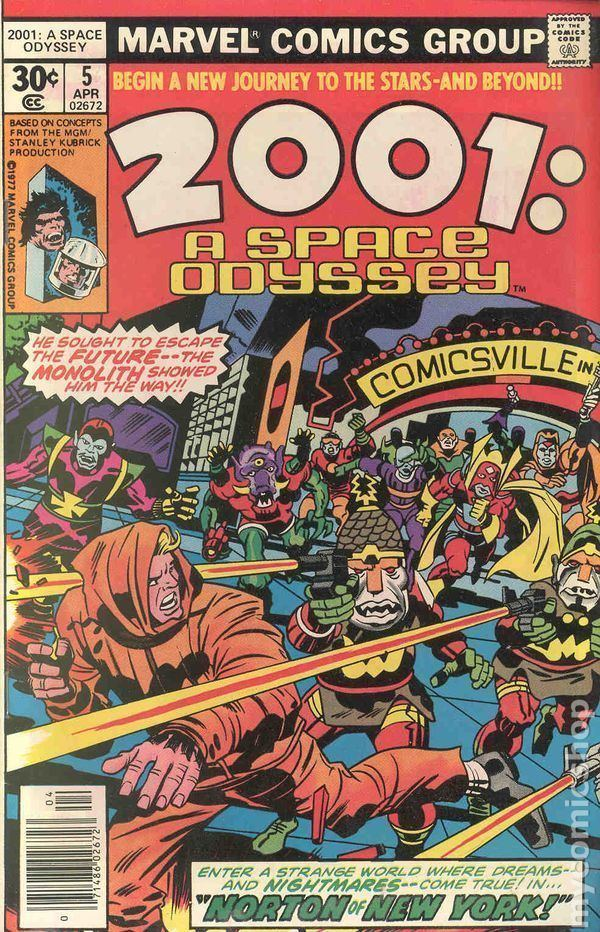 2001: A Space Odyssey (comics) 2001 A Space Odyssey 1976 comic books